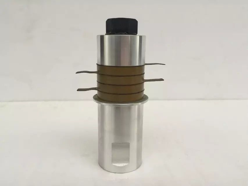 Piezoelectric Ceramic Ultrasonic Welding Transducer / Ultrasonic Oscillator 20khz
