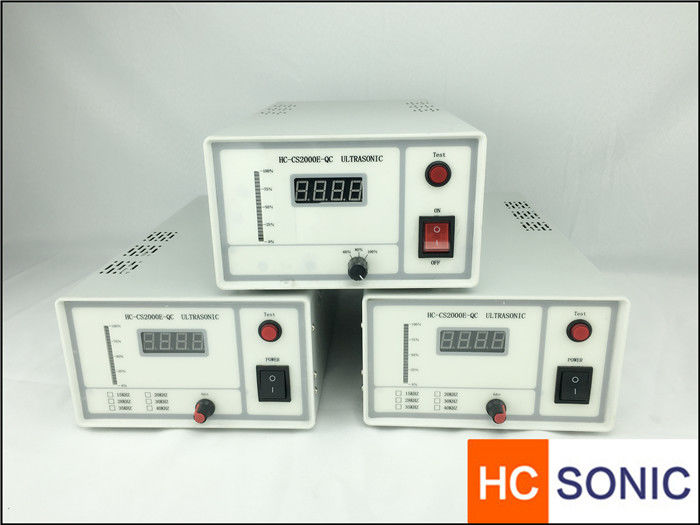 50 khz Lightweight Ultrasonic Power Supply 100W ~ 2000W For Ultrasonic Spray